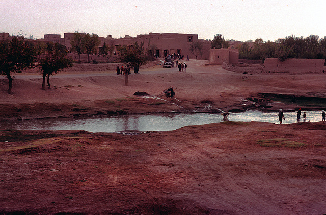 Beside the Hari Rud River in Herat
