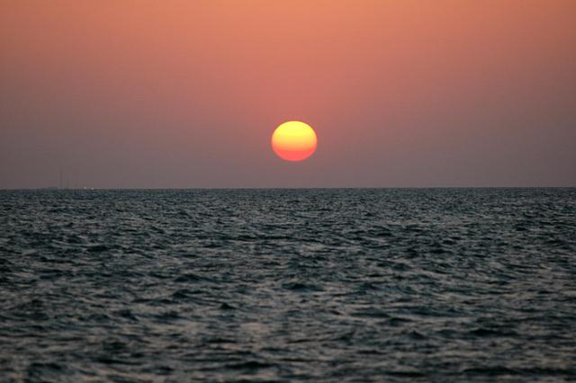 Nice little sunset