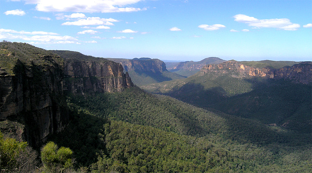 Govett's Leap ... down into the Grose