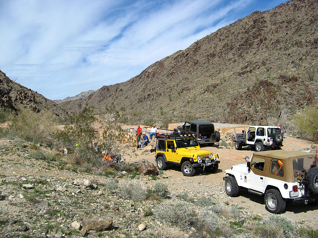 Jeeps at Red Cloud Processing Facility (1435)