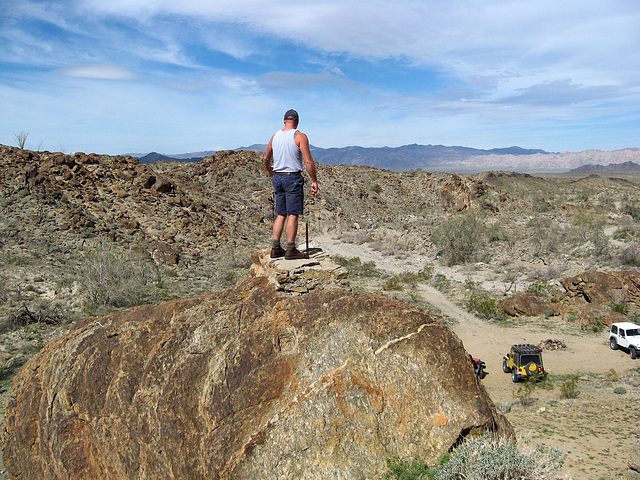 Pete Above Red Cloud Road Structure (1385)