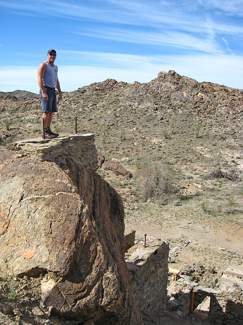 Pete Above Red Cloud Road Structure (1386)