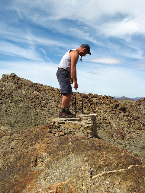 Pete Atop Red Cloud Road Structure (1387)