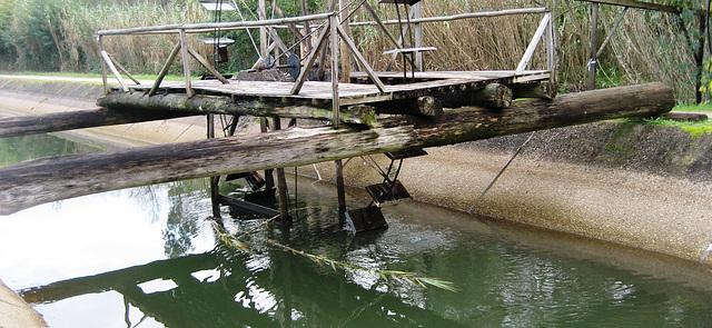 Coimbra, Choupal, decorative watermill