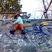 Victor fait du skate...