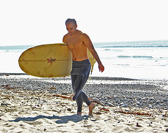 Ky Coming From Surfing (1323)