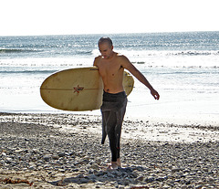 Ky Coming From Surfing (1322)