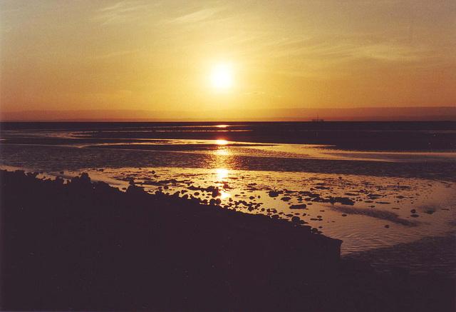 coucher de soleil, Atacama