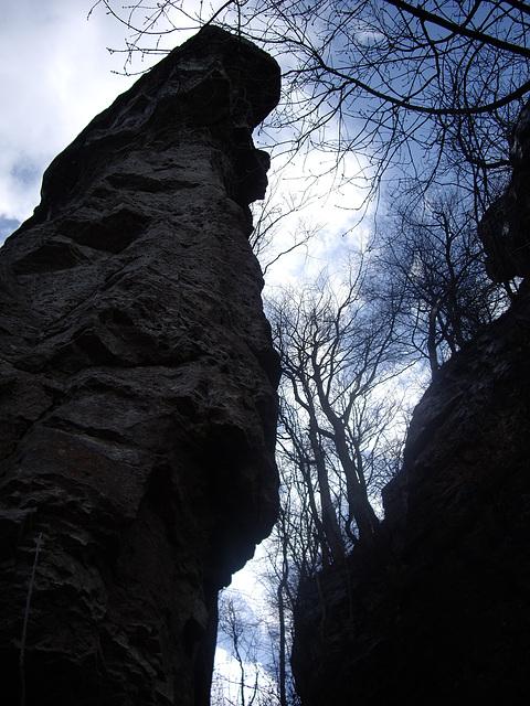 Felsenlandschaft am Kanstein