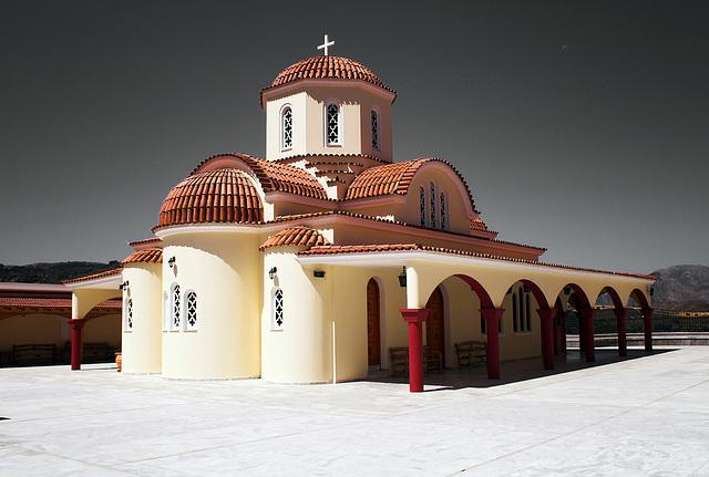 monastery on Crete