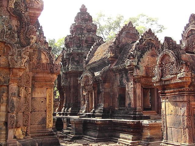 temple Banteay Srei : 10ème siècle