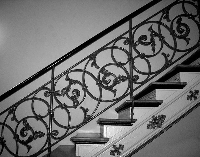 Treppe: Kunstschmiedearbeit