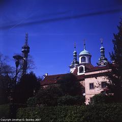 Strahovsky Klaster (Strahov Monastery), Picture 2, Strahov, Prague, CZ, 2007