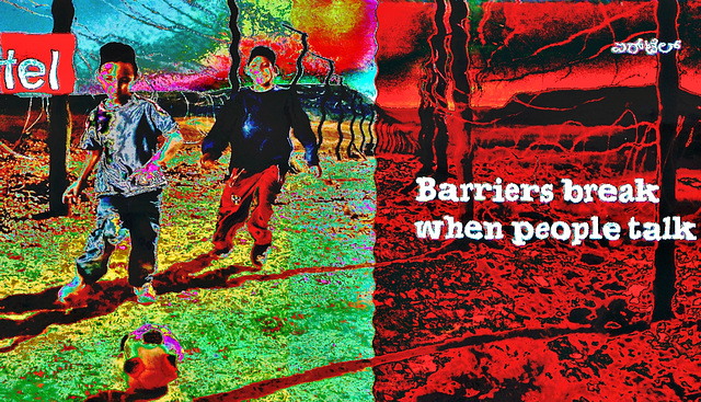 Barriers break