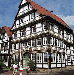 Fachwerkhaus in der Kupferschmiedestraße in Hameln