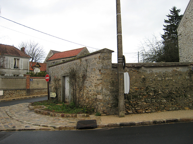 Rue Grande avant les travaux