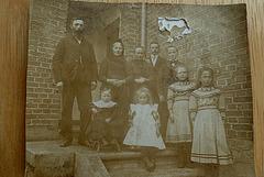 Um 1914 - Die Familie meiner Mutter - la familio de mia patrino