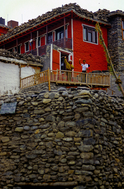 """The """"Red House"""" in Kagbeni"""