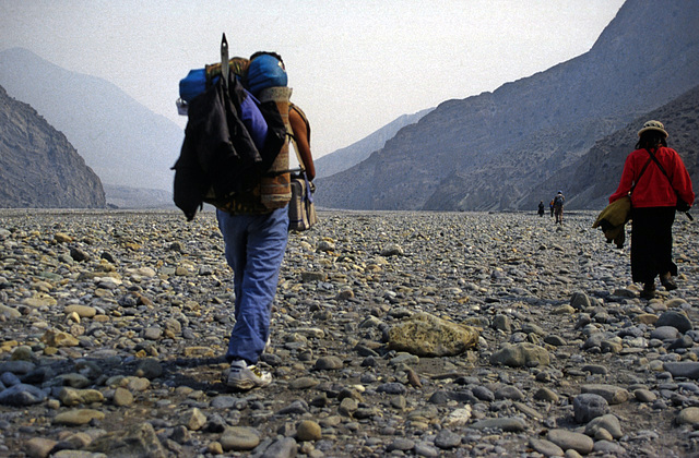 The first 12 km walk