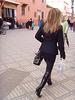 Blonde du Maghreb en Bottes de Dominatrice - Maghreb Islamic blonde in Dominatrix stilleto boots - Photo originale