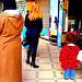 Solde pour Dominatrice blonde du Maghreb - Blonde Dominatrix meditating ..... Janvier 2009 / Couleurs accentuées