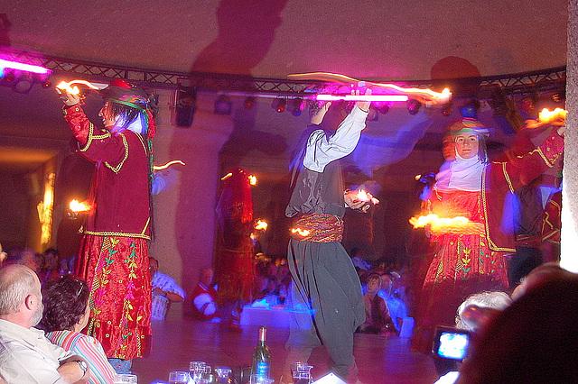 Dancgrupo en Konya