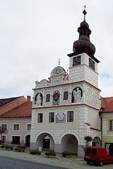 Urbodomo en Volyně (Town Hall in Volyně - Czech Republic, South Bohemian Region)