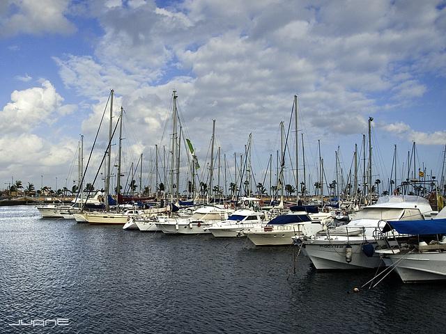 Muelle deportivo, Las Palmas de Gran Canaria
