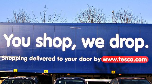 You shop, we drop - art, or not art ?