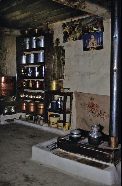 Inside a Thakkali house