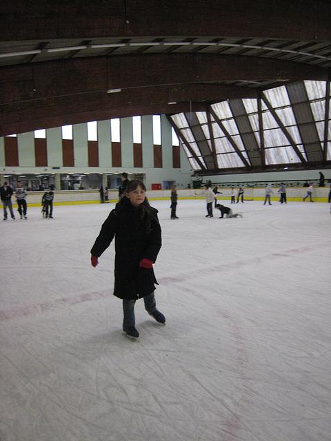 Sortie patinoire