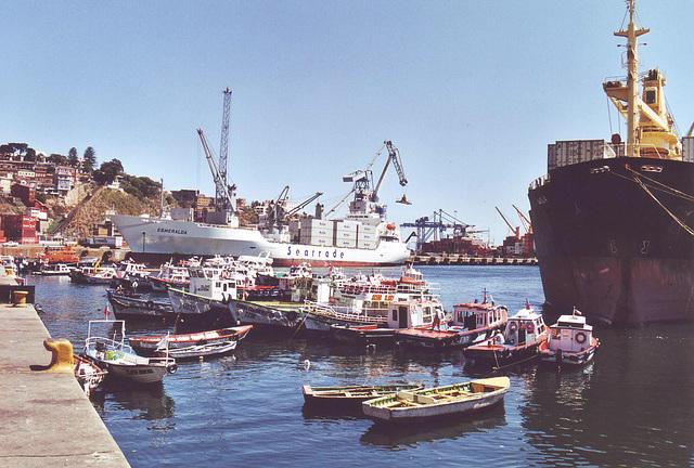 Valparaiso, le port 2