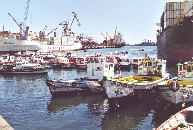 Valparaiso, le port 3