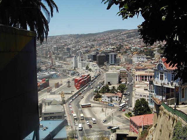 Valparaiso, vu sur le port 2