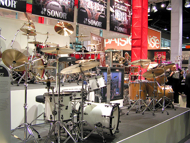 Musikmesse 08 - Sonor
