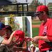 Anaheim Angels Signing Autographs (0931)