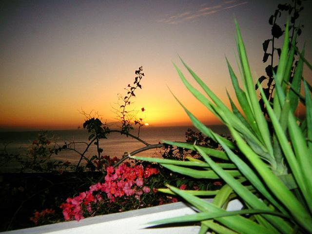 DSCN3279 Sonnenuntergang von Calera aus