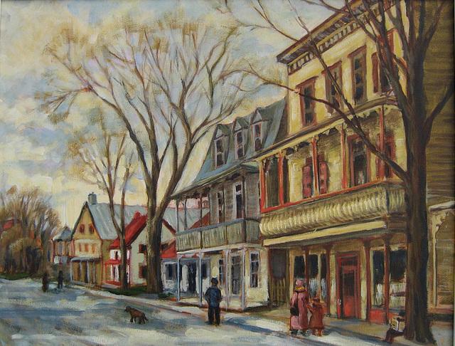 Village de St-Ours vers 1900