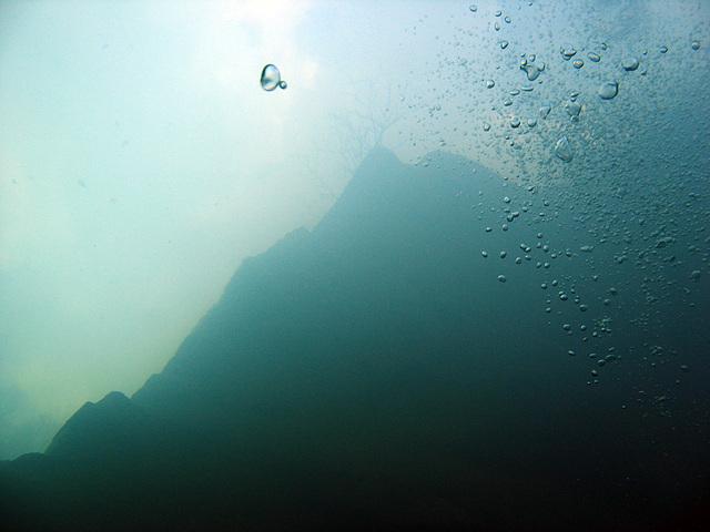 Blubber Blasen (Ascending bubbles)