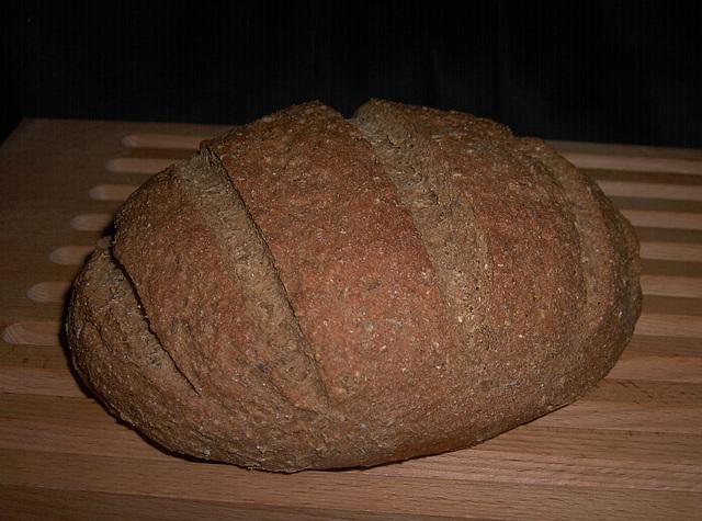 Rye-Oatmeal Bread