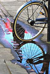 semi-virtual bicycle