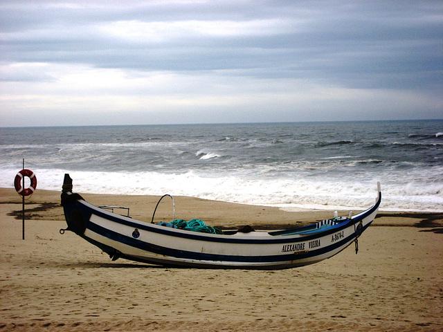 Praia de Mira, handmade fishing boat