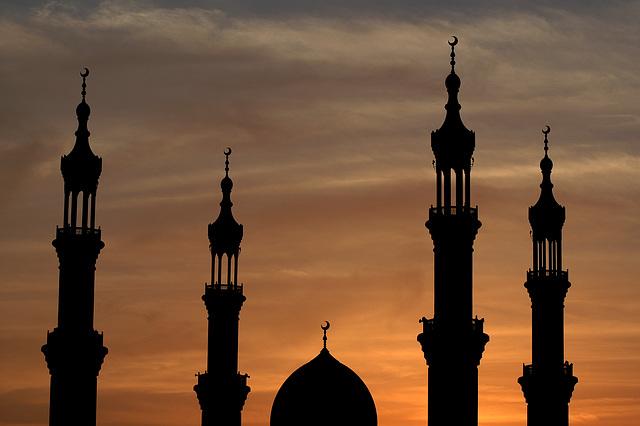 Sheikh Zayed Mosque in Ras Al Khaimah