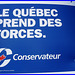 Le Québec qui faiblit en bleu capitaliste