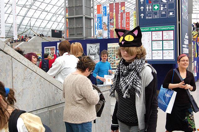 Granda kato - Große Katze