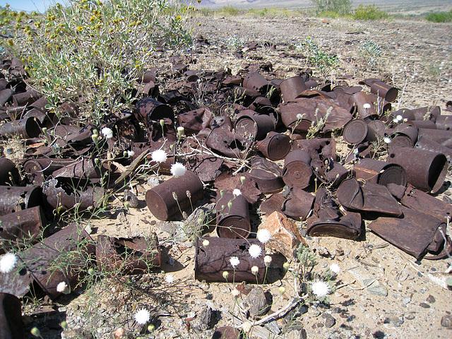 Black Jack Mine Can Dump (0453)