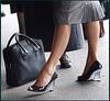 Rachel in high heels by  Corinne / Rachel en talons hauts par Corinne