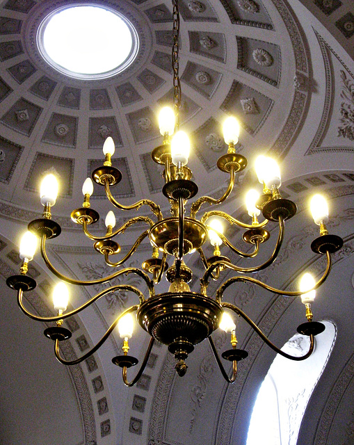 Lamp and dome