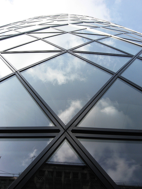 Under the Gherkin