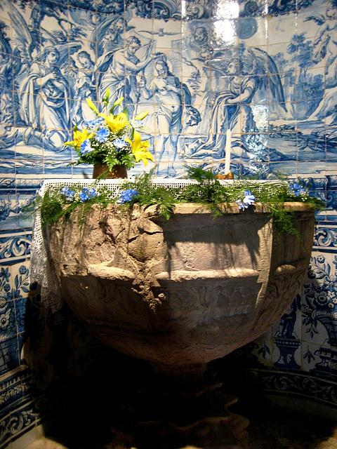 Sobral de Monte Agraço, Church of S. Quintino, baptistery (1)